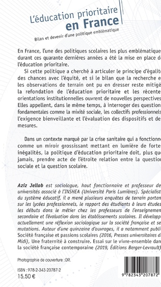 4eme L'éducation prioritaire en France