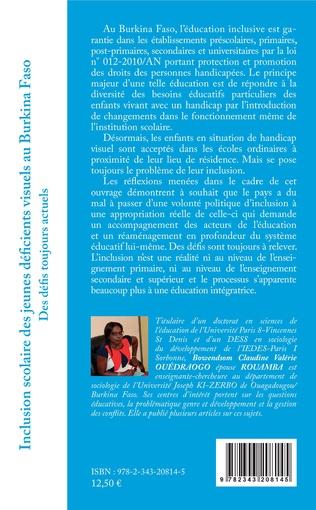 4eme Inclusion scolaire des jeunes déficients visuels au Burkina Faso