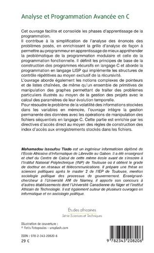 4eme Analyse et Programmation Avancée en C