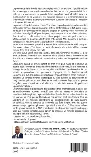 4eme Sortir la République Démocratique du Congo des guerres récurrentes : conditions, stratégies et perspectives