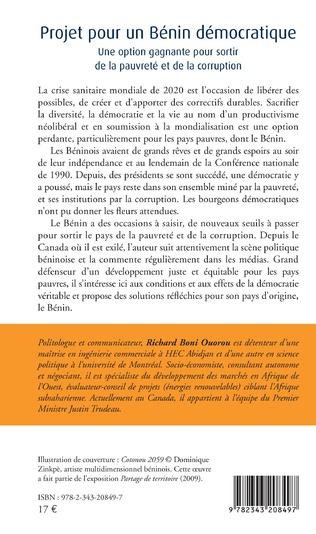 4eme Projet pour un Bénin démocratique