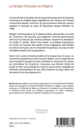 4eme La langue française au Nigéria