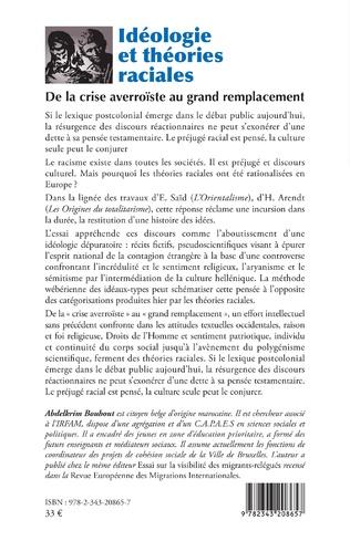 4eme Idéologie et théories raciales