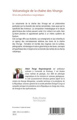 4eme Volcanologie de la chaîne des Virunga
