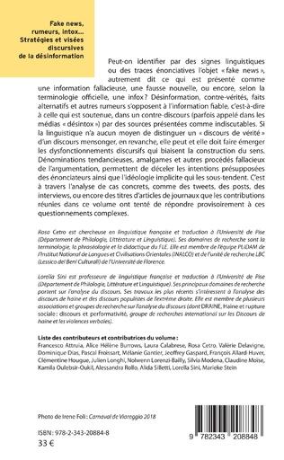 4eme Fake news rumeurs, intox...