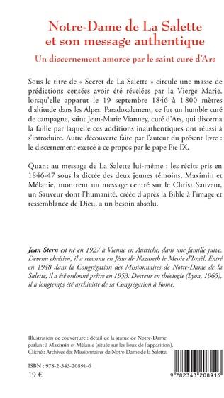 4eme Notre-Dame de La Salette et son message authentique