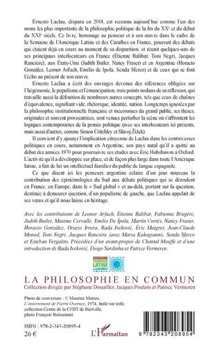 4eme Hégémonie, populisme, émancipation