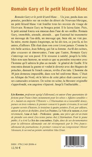 4eme Romain Gary et le petit lézard blanc
