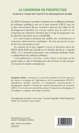 4eme Le Cameroun en prospective
