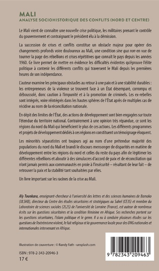 4eme Mali. Analyse sociohistorique des conflits (Nord et Centre)