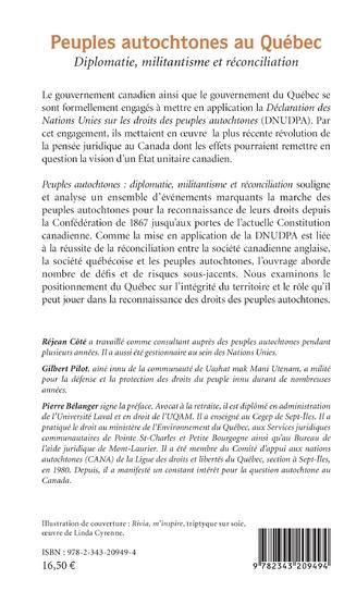 4eme Peuples autochtones au Québec