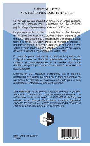 4eme Introduction aux thérapies existentielles