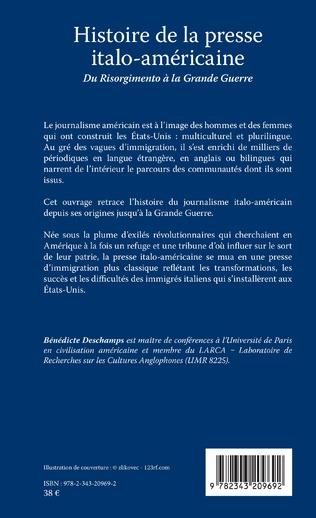 4eme Histoire de la presse italo-américaine