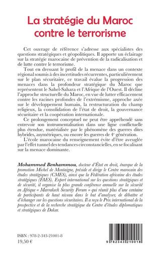 4eme La stratégie du Maroc contre le terrorisme