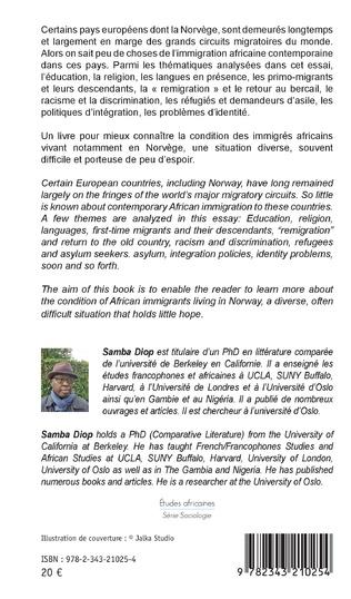 4eme La diaspora africaine en Norvège. Immigration et intégration en Europe