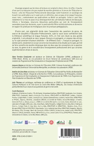 4eme Sexe, sexualité et genre dans l'enseignement professionnel au Brésil et en France