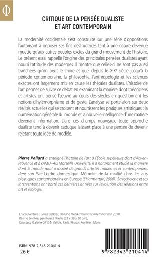 4eme Critique de la pensée dualiste et art contemporain