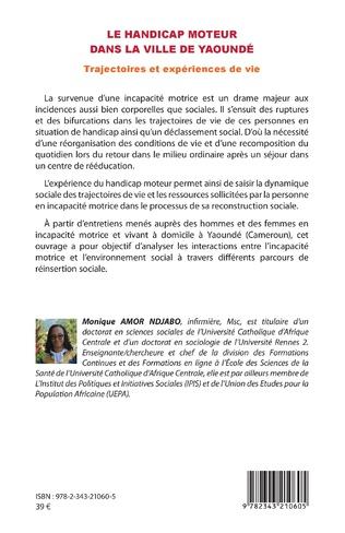 4eme Le handicap moteur dans la ville de Yaoundé