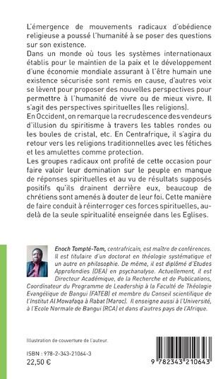 4eme Les nouvelles formes de spiritualité dans l'espace centrafricain
