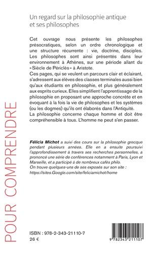 4eme Un regard sur la philosophie antique et ses philosophes