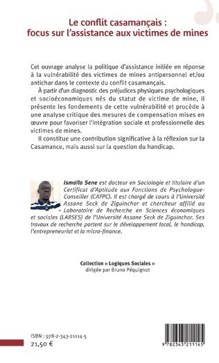 4eme Le conflit casamançais : focus sur l'assistance aux victimes de mines