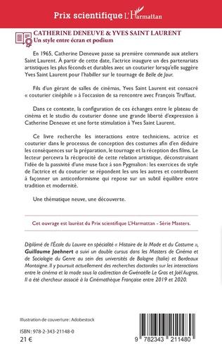4eme Catherine Deneuve & Yves Saint Laurent