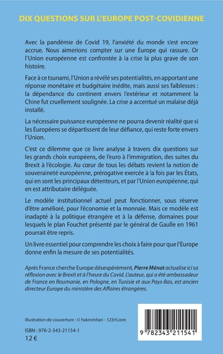 4eme Dix questions sur l'Europe post-covidienne
