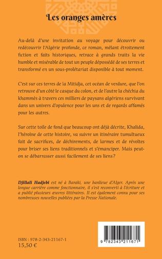 4eme Les oranges amères