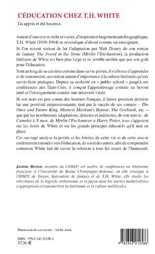 4eme L'éducation chez T.H. White