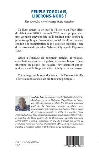 4eme Peuple togolais, libérons-nous !