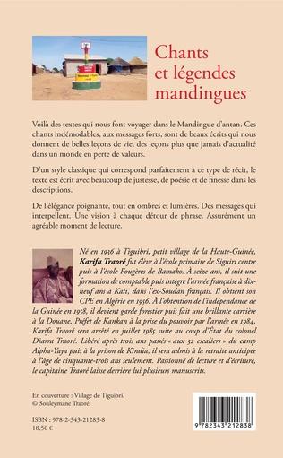 4eme Chants et légendes mandingues