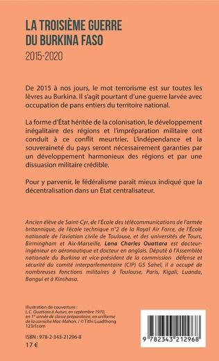 4eme La troisième guerre du Burkina Faso 2015-2020