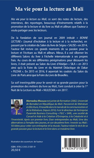 4eme Ma vie pour la lecture au Mali