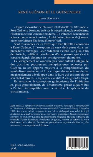 4eme René Guénon et le guénonisme