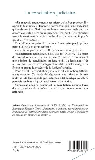 4eme La conciliation judiciaire