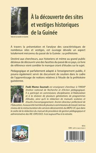 4eme A la découverte des sites et vestiges historiques de la Guinée
