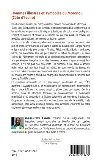 4eme Hommes illustres et symboles du Moronou (Côte d'Ivoire)