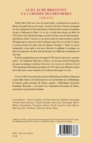 4eme Guillaume Briçonnet à la croisée des réformes
