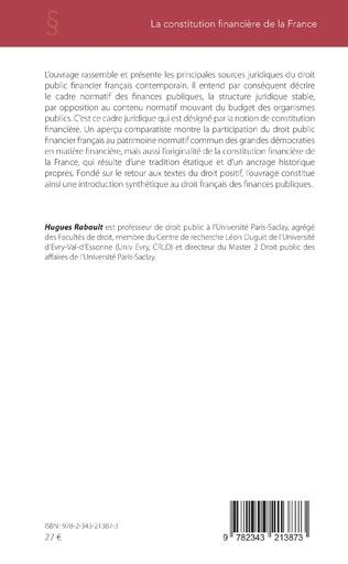 4eme La constitution financière de la France
