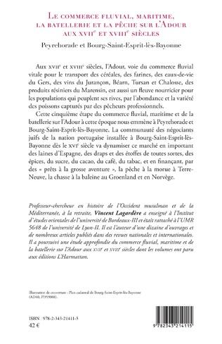 4eme Le commerce fluvial, maritime, la batellerie et la pêche sur l'Adour aux XVIIe et XVIIIe siècles