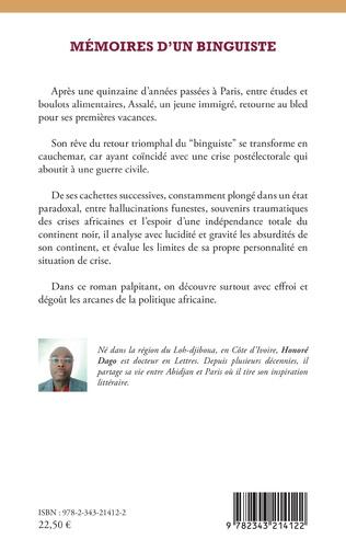 4eme Mémoires d'un binguiste. Roman