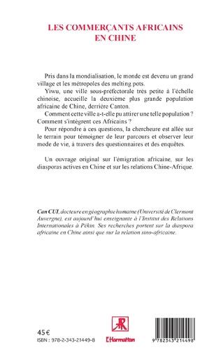 4eme Les commerçants africains en Chine