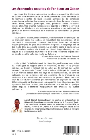 4eme Les économies occultes de l'or blanc au Gabon