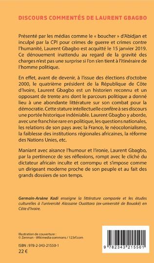 4eme Discours commentés de Laurent Gbagbo 2000-2008