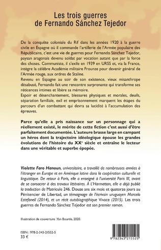 4eme Les trois guerres de Fernando Sánchez Tejedor