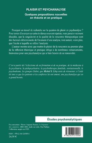 4eme Plaisir et psychanalyse