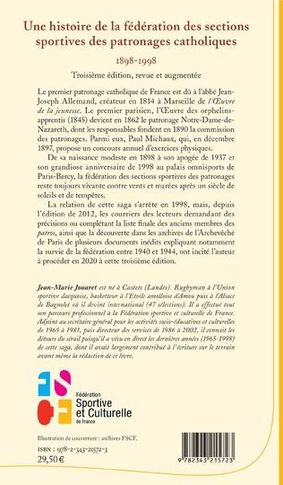 4eme Une histoire de la fédération des sections sportives des patronages catholiques