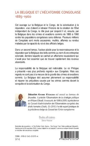 4eme La Belgique et l'hécatombe congolaise 1885-1960
