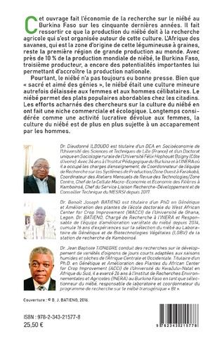 4eme La recherche scientifique et progression de la culture du niébé au Burkina Faso