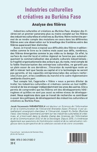 4eme Industries culturelles et créatives au Burkina Faso